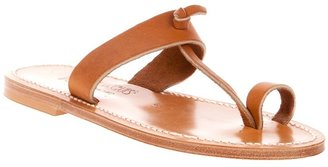 K. Jacques 'Ganges Naturel' sandal