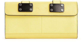 Rag and Bone Continental Wallet - Canary