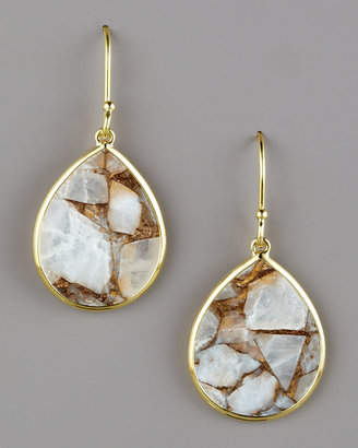Ippolita Small Teardrop Earrings, Calcite