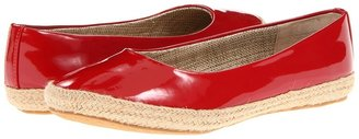 Fitzwell Madison Flat (Red Patent) - Footwear