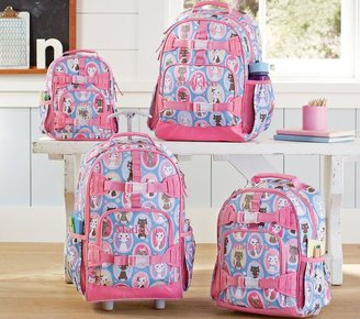 Pottery Barn Kids Mackenzie Aqua Kitty Backpacks