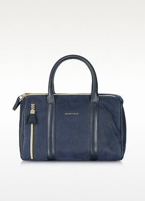 See by Chloe Midnight Blue Nabuk 24 Hour Bag