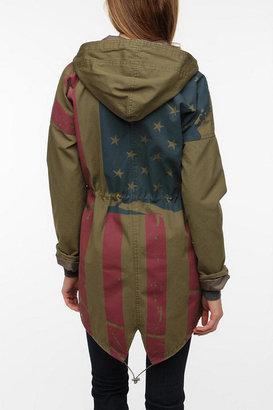 BDG Americana Flag-Back Surplus Jacket