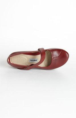 Tsubo 'Asmik' Wedge Mary Jane Merlot 6.5 M