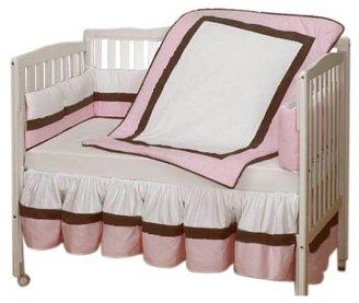 Baby Doll Bedding Classic Crib Bedding Set - Pink