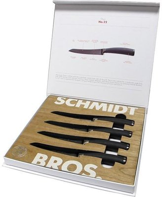 Schmidt Brothers 4-pc. Titan Steak Knife Set with Gift Box
