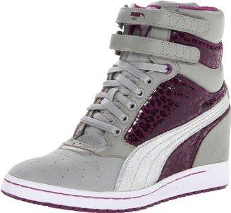 Puma Women's Sky Wedge Metal Lace-Up Fashion Sneaker