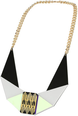 Topshop Sarah Angold For Freedom Layered Shape Necklace