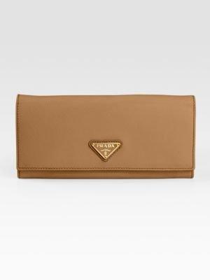Prada Saffiano Oro Wallet