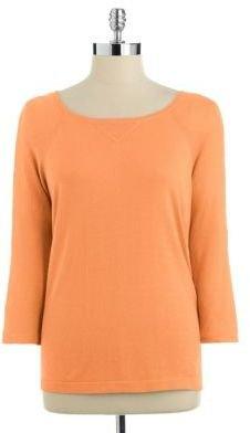 Trina Turk Lace Back Sweatshirt