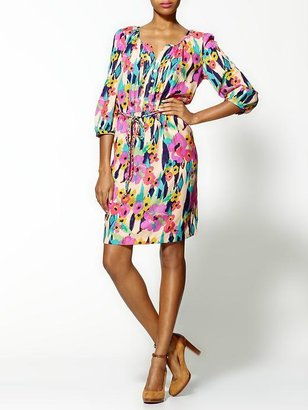 Daniel Rainn Elyse Silk Dress