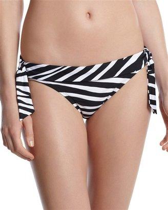White House Black Market Zebra Side-Tie Bikini Bottom