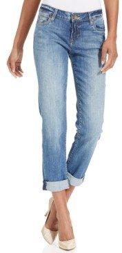 KUT from the Kloth Catherine Boyfriend Cuffed Jeans