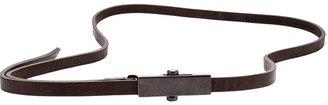 Haider Ackermann thin belt