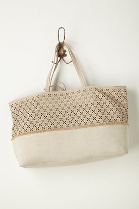 Anthropologie Primrose Cut Tote