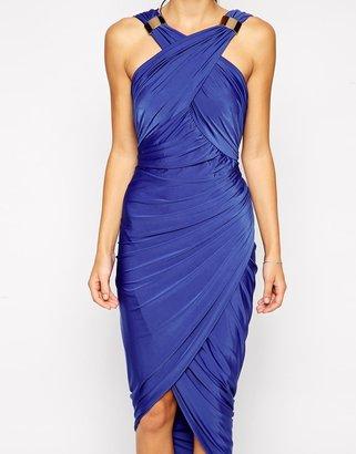 Forever Unique Mika Drape Dress