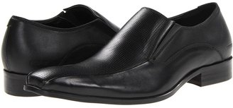 Kenneth Cole Reaction The Jig Is Up (Black Leather) - Footwear