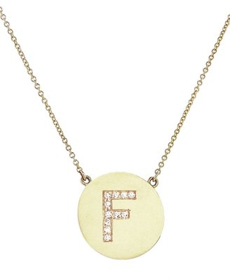 Jennifer Meyer 'F' letter necklace