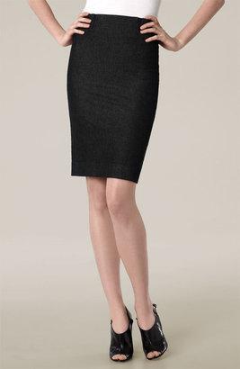 Vince Stretch Denim Pencil Skirt
