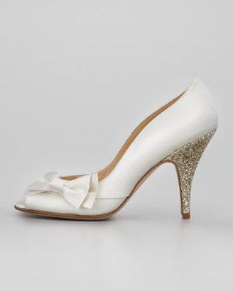 Kate Spade Shalyn Sequin-Heel Bow Pump