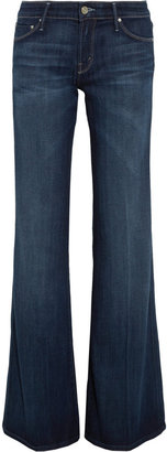 Mother The Wilder low-rise flared jeans
