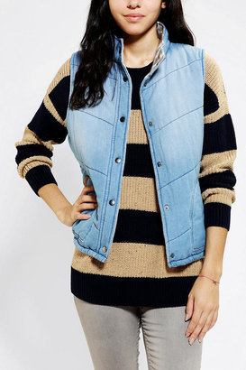 Urban Outfitters ByCORPUS Denim Puffer Vest
