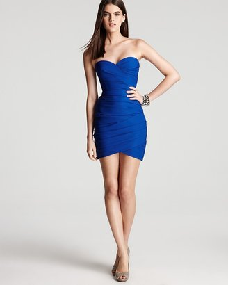 BCBGMAXAZRIA Strapless Dress - Madge Cocktail