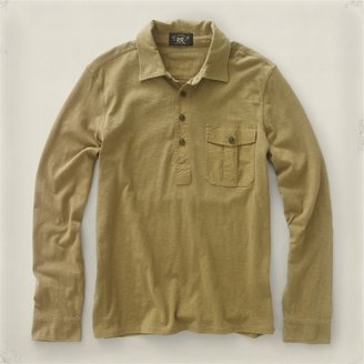 RRL Long-Sleeved Military Popover