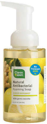 Cleanwell Natural Antibacterial Foaming Handsoap Ginger Bergamot