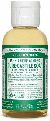Dr. Bronner's Almond Castile Liquid Soap - Trial Size