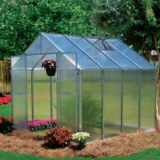 Riverstone Industries Riverstone Monticello 8-Foot x 8-Foot Extruded Aluminum Residential Greenhouse