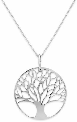 Giani Bernini Sterling Silver or Sterling Silver Tree of Life Pendant Necklace