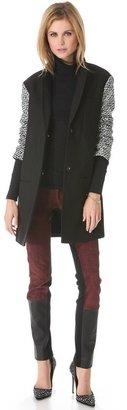 Diane von Furstenberg Keziah Car Coat