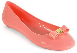 Tory Burch Jelly Ballet - Pink Jelly Ballet Flat