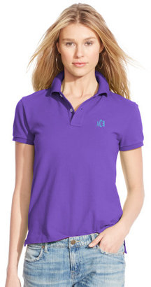 Personalization Classic-Fit Polo Shirt $85 thestylecure.com