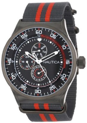 Nautica Unisex N16575G NST 17 Multi Function Watch $165 thestylecure.com