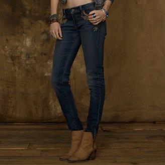 Denim & Supply Ralph Lauren Skinny Appliqué-Pocket Jean
