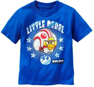 "Star Wars Angry birds little rebel"" tee - toddler"