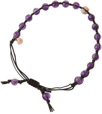 Tai Amethyst Bead Bracelet
