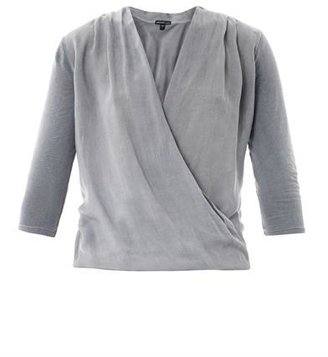 James Perse Draped front T-shirt