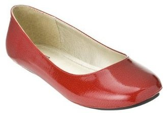 Mossimo Women's Odell Ballet Flats - Red Patent