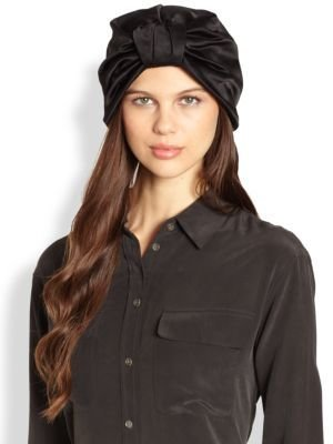 Jennifer Behr Silk Turban