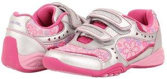 Stride Rite SS Crystal (Toddler/Little Kid) (Silver/Pink) - Footwear