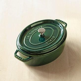 Staub Cast-Iron Oval Wide Cocotte