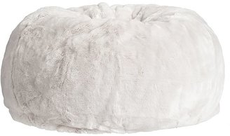 Pottery Barn Kids Pink Faux Fur Anywhere Beanbag(R)