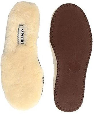 Hunter Luxury Shearling Rain Boot Insole (Toddler/Little Kid) (Natural) Kids Shoes