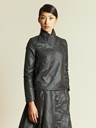 J.W.Anderson Women's Quilted Collar Puffer Top
