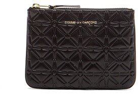 Comme des Garcons Small Star Embossed Pouch