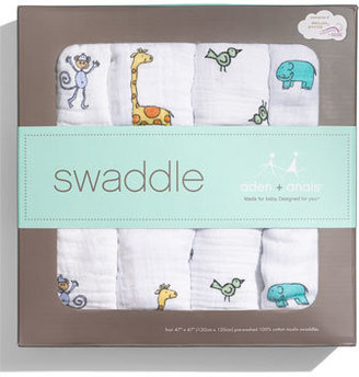 Aden Anais Aden + Anais Set Of 4 Classic Swaddling Cloths
