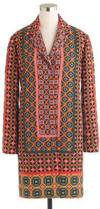 J.Crew Collection Ratti tile coat